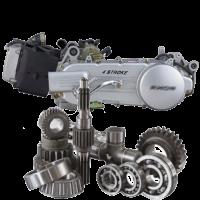 Двигун скутера запчастини для двигуна