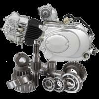 Двигун мопеда Альфа запчастини для двигуна Alpha
